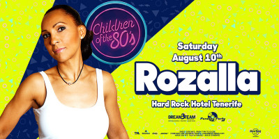 Children of the 80s Rozalla