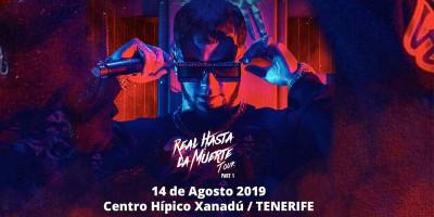 Anuel en concierto Tenerife!